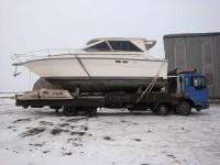 Перевозка яхт и катеров при помощи автомобильного транспорта
