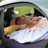 Как спать в машине