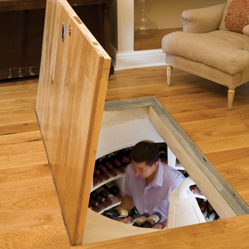 Как сделать погреб в комнате